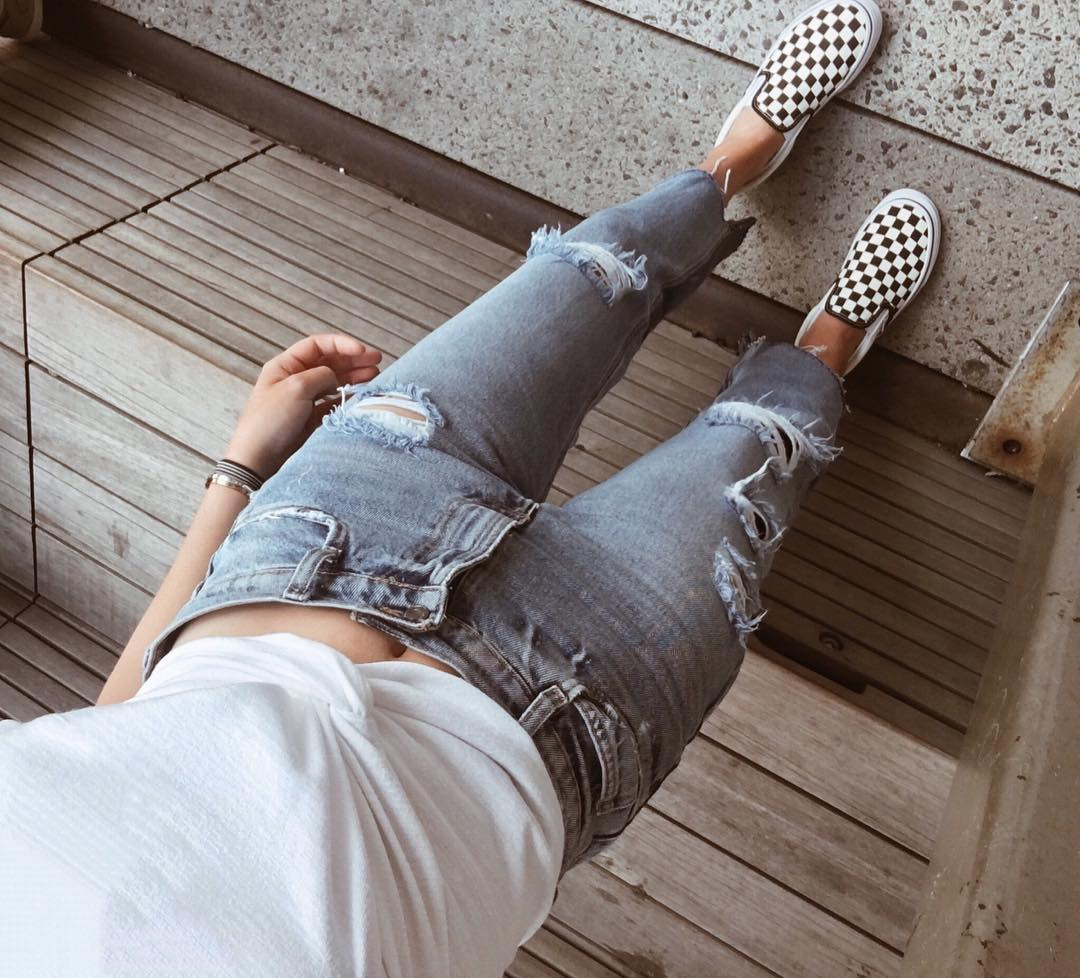 How To Wear Checkered Vans No Matter Your Personal Style College